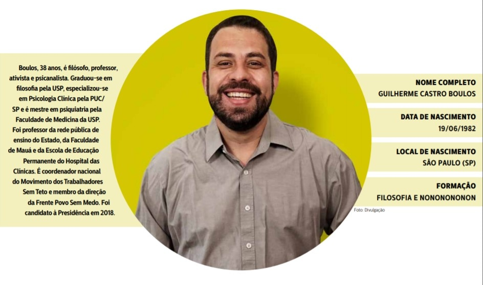 propostas candidato Guilherme Boulos