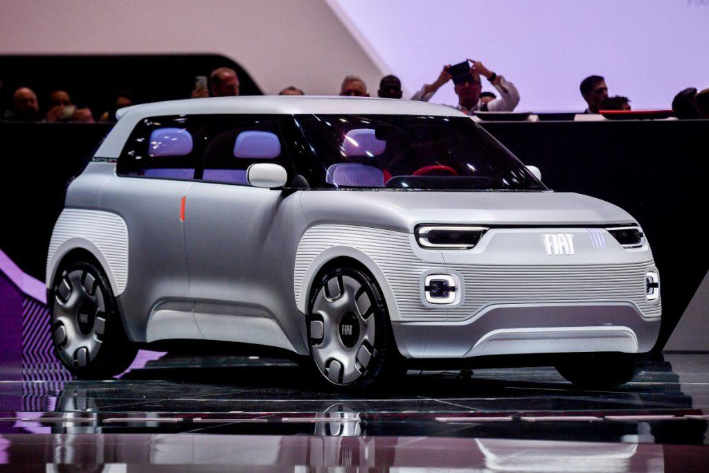 Carro moderno Fiat