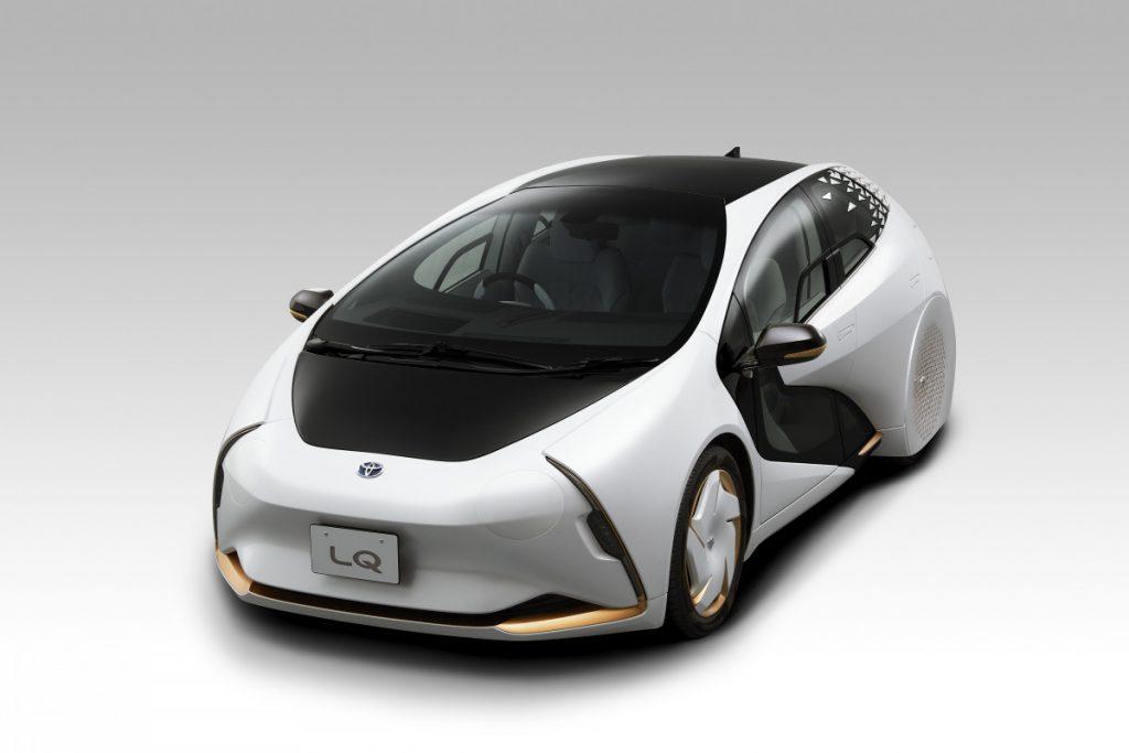 show car Toyota carro elétrico