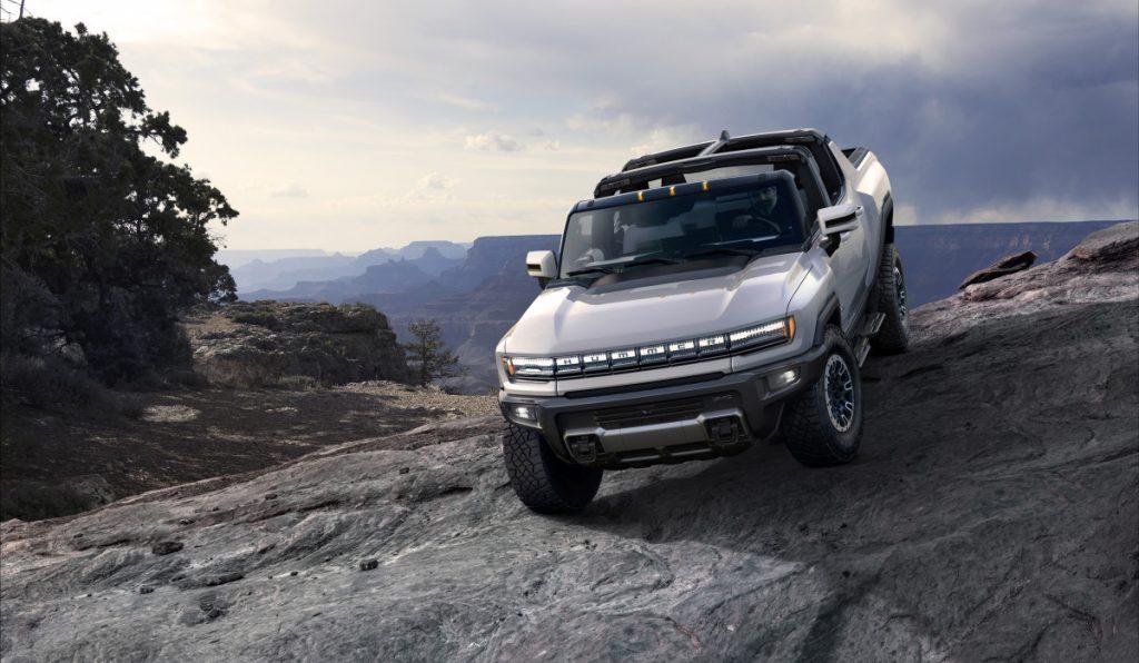 A picape elétrica Hummer usará a nova geração de baterias Ultium