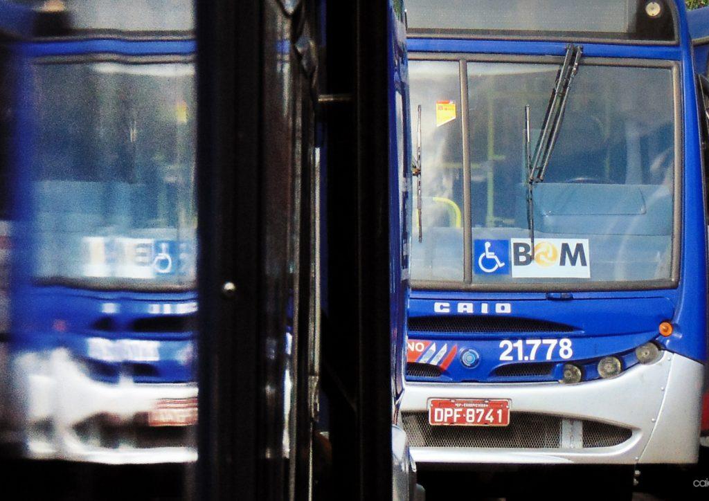Ônibus da Viação Osasco. Foto: Caíque Alves de Souza